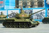 Militärparad i Moskva, Ryssland, 2015 — Stockfoto