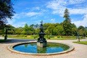 Garden Crystal Palace — Stock Photo