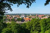 Kaunas eski şehir gündüz manzara — Stok fotoğraf