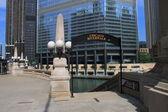 Chicago Riverwalk — Stock fotografie