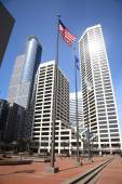 Minneapolis Skyscrapers — Stock Photo