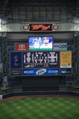 Miller Park - Milwaukee Brewers — Stock Photo