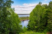 North river — Stock Photo