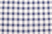 White and blue checkered textile — Stock Photo