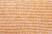 Beige color knitted background — Stock Photo