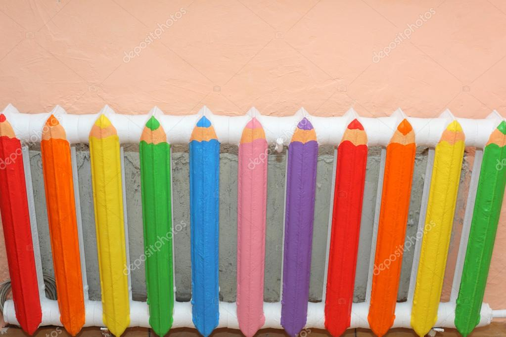 Батарея как карандаши