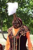 Kazakh national costume — Stock Photo