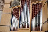 Cathedral big Organ — Stock Photo