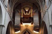 Cathedral big Organ — Stok fotoğraf