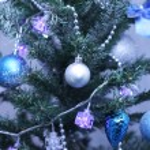 Green christmas fur tree — Stock Photo #78672236