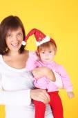 Matka s malým dítětem — Stock fotografie