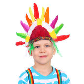 Little American Indian — Stock Photo