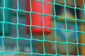 Green braided net — Stock Photo
