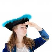 Young female pirate — Stock Photo