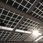 Solar power panel — Stockfoto #64552449