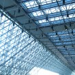 Transparent ceiling — Stock Photo #64552589
