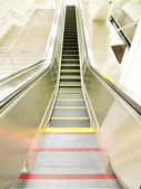 Long escalator — Stock Photo