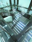 Bright staircase — Stock Photo