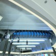 Ceiling of modern building — Stock Photo #66835409