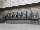 公衆電話 — ストック写真