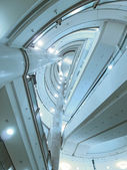 Plafond du bâtiment moderne — Photo