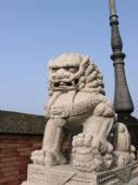 Stone lion — Foto de Stock