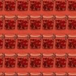 Jars of jam — Stock Vector #52606303