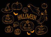 Halloween zestaw — Wektor stockowy