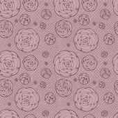Lacy seamless pattern — Stok Vektör