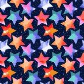 Abstract grunge stars — 图库矢量图片