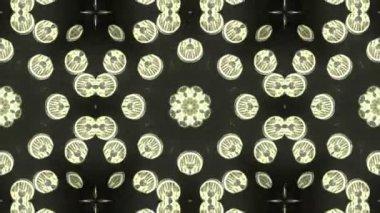 Kaleidoscope animation — Stock Video