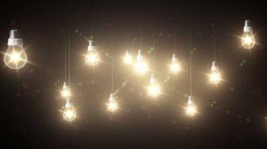 Lighting decor — Stock Video