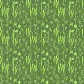 Wheat seamless pattern — Stock Vector