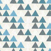 Seamless hand drawn geometric pattern — Stock Vector