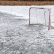 Outdoor Hockey Net — Stock Photo #61897875