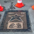 Постер, плакат: Walk of fame with Benedict Cumberbatch plate