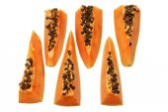 Slices of Papaya — Stock Photo