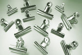 Bulldog Clips — Stock Photo