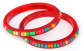 Traditional bracelets of Southeast Asia — Stock Photo