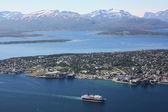 Panoramisch uitzicht van Tromsø — Stockfoto