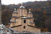 Serbian Orthodox monastery Ravanica — Stock Photo