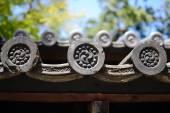 Japan Temple Decoration — Stock Photo