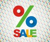 Sale background 3 — Stock Photo