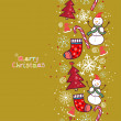 Christmas background with place for your text — Stock Vector #55244277