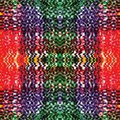Grunge listrado e xadrez colorido padrão sem emenda — Vetorial Stock