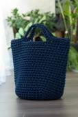 Blue bag — 图库照片