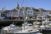 Port of Le Croisic in France — Stock Photo