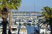 Port of Bandol in France — Photo