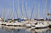 Marina of Saint-Cyprien in France — Foto Stock