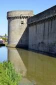 Castle of Guérande in France — Stock Photo